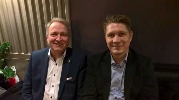 Peter Münster (links) und Andreas Teichmann (rechts)