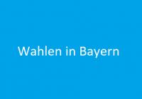Wahlen in Bayern